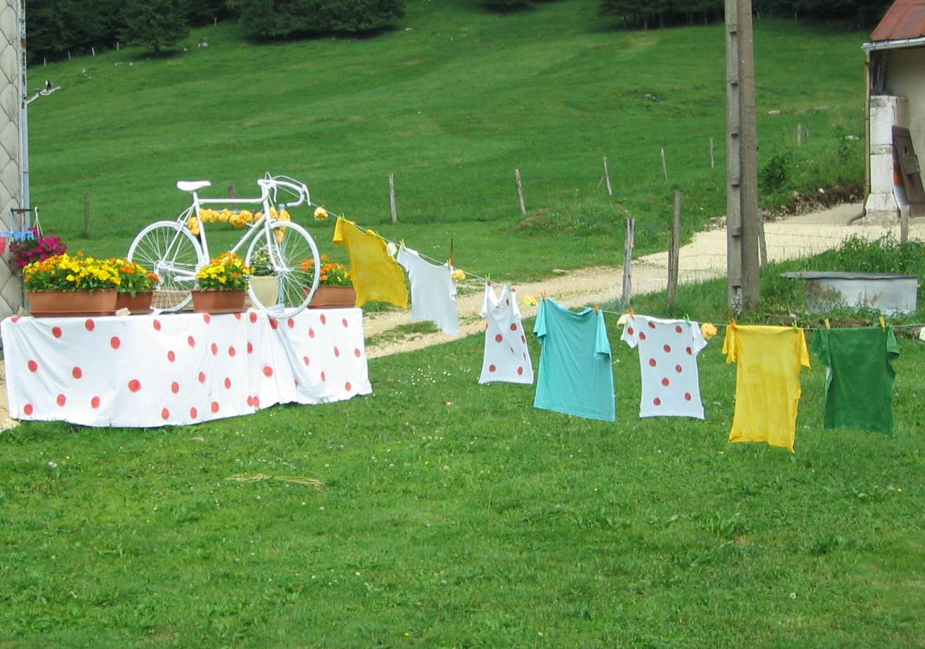 Le tour de france for Art decoration france